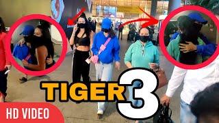 Disha Patani With Tiger Shroff's Mother And Sister Krishna Shroff Returning From Tiger 3 Shoot