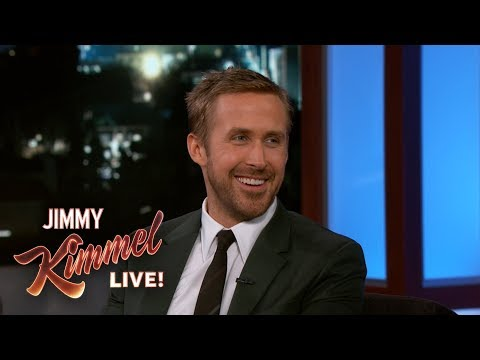 Ryan Gosling on Daughters in NY & Laughing on SNL (видео)