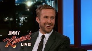 Ryan Gosling on Daughters in NY & Laughing on SNL