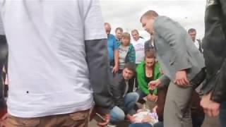 Мотоциклист влетел в ограждение на мотофестивале в Ярославле