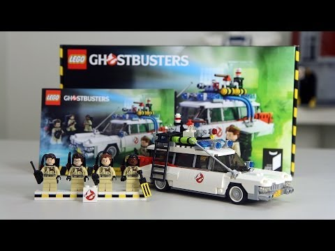 LEGO 21108 Ghostbusters Review