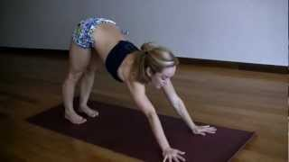 strength building handstand  yome  yoga videos