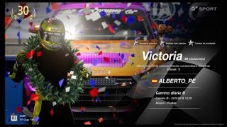 🚩Gran Turismo SPORT Online🚩 Road to Trophy, Record de victorias, 30 Victorias, C.B. Audi TT Cup 16