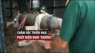 """Người chăm sóc thiên nga ở Hải Phòng phát hiện bom """"khủng"""" dưới sông Tam Bạc"""