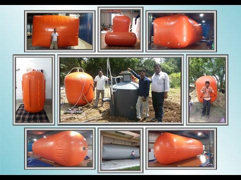 Portable Biogas Storage Balloons