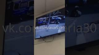 Мотоциклист сбил человека на скорости