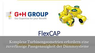 Passgenaue Turbinendämmung mit dem FlexCAP-System