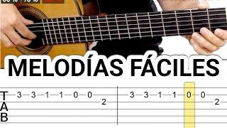 Melodías y canciones para guitarra fáciles tocar guitarra fácil acústica guitarraviva