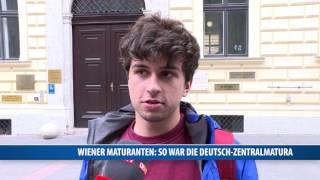 Wiener Maturanten: So War Die Deutsch-Zentralmatura