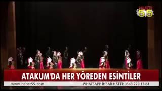 ATAKUM'DA HALK OYUNLARI YARIŞMASI YAPILDI