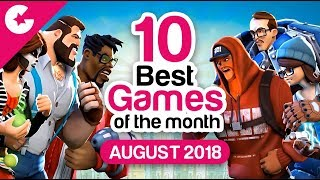 Top 10 Best Android/iOS Games - Free Games 2018 (August)