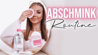 Abschminken mit meiner aktuellen Hautpflege Routine deutsch Schicki Micki