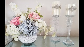 ELEGANT ARRANGEMENT/ CENTERPIECE | INEXPENSIVE DIY | YEAR ROUND HOME DECOR
