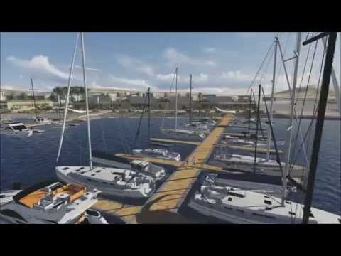 Rendering Waterfront Portoferraio