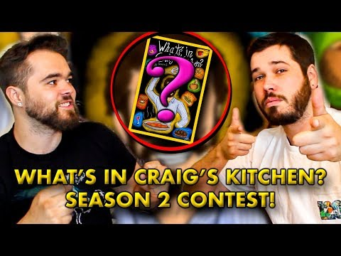 What's in Craig's Kitchen? - CONTEST AND GIVEAWAY