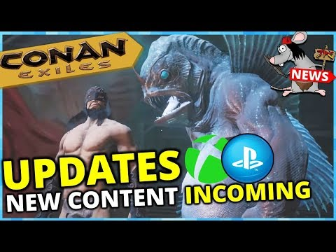 CONAN EXILES UPDATES PS4 Xbox! 1 Year Anniversary New Content