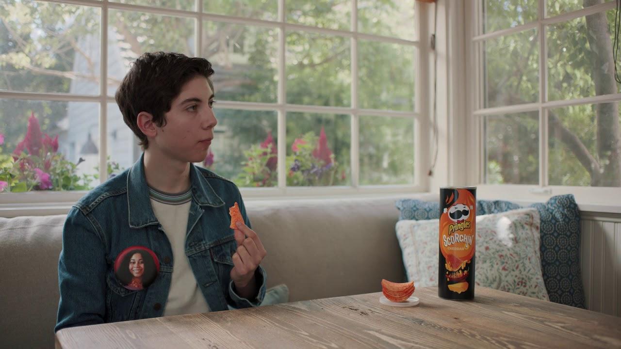 Pringles Scorchin Video Ad Still