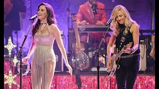 """Sheryl Crow & Kacey Musgrave - """"If It Makes You Happy"""" (short clip)"""