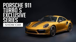 Porsche 911 Turbo S Exclusive Series - Show Car
