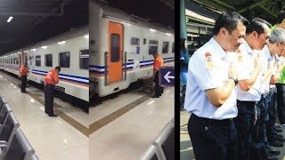 Viral Video Para Pegawai KAI Tundukkan Kepala, Ini Penjelasan Humas PT KAI