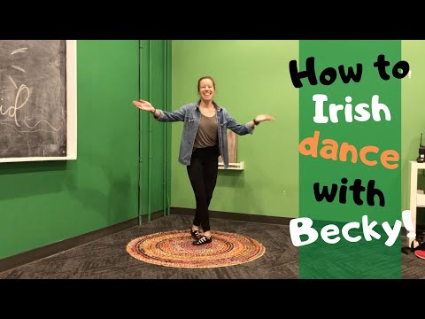 MISSION KIDS | BECKY TEACHES YOU HOW TO IRISH DANCE ☘️