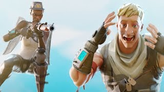 When You Meet Default Skins In Game..... (CIZZORZ FORTNITE HIGHLIGHTS)
