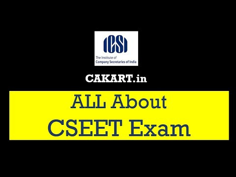 All About CSEET Exam