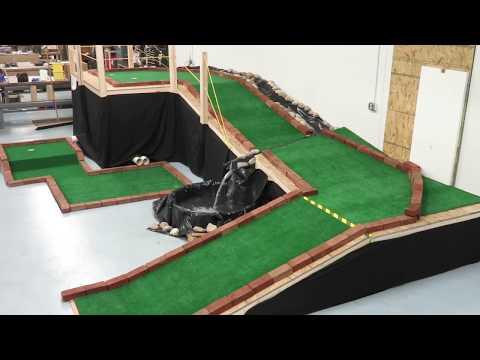Office Indoor Mini Golf Hole