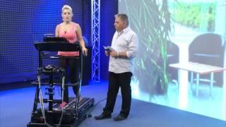 PEARL Sports Heimtrainer mit Pulsmesser, 4 kg Schwungmasse