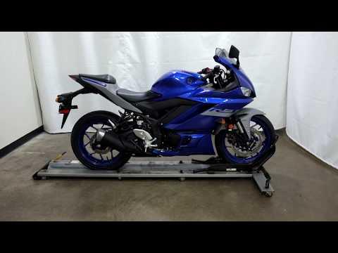 2020 Yamaha YZF-R3 ABS in Eden Prairie, Minnesota - Video 1