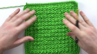 Wee Bobbles Dishcloth | An Annies Free Crochet Pattern Tutorial