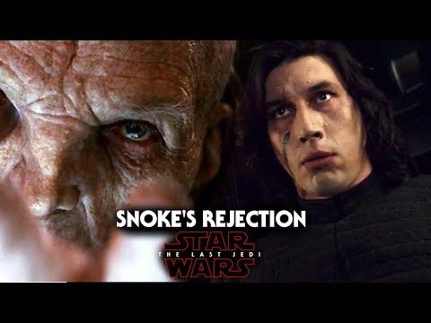 Star Wars The Last Jedi Trailer - Snoke Rejects Kylo Ren