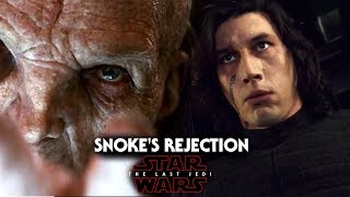 Star Wars The Last Jedi Trailer - Snoke Rejects Kylo Ren