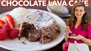 easy chocolate lava cake for one