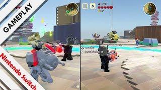 LEGO Worlds [SWITCH] Liándola a uno y dos jugadores en un mundo chatarra