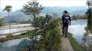 Video : China : The YuanYang 元阳 rice terraces, YunNan province