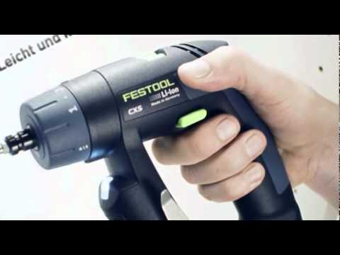 Festool Akku-Bohrschrauber CXS