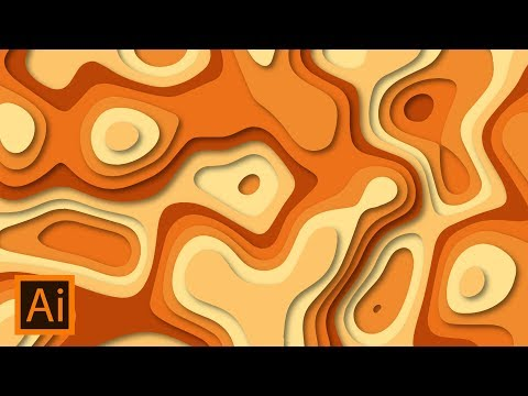 Paper Cut Out Effect | Adobe Illustrator Tutorial
