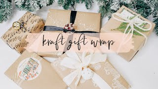 5 Simple Ways To Dress Up Kraft Wrapping Paper - Letters By Juliet