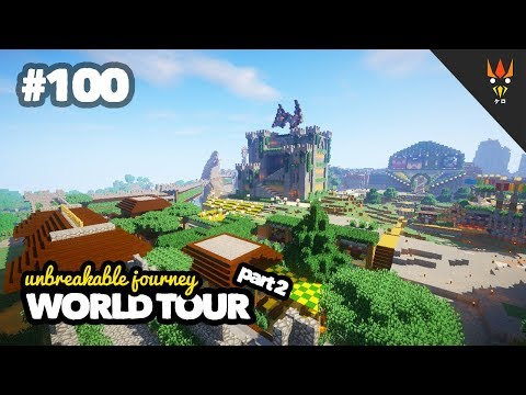 WORLD TOUR part 2 - Minecraft Indonesia #100 + Map Download