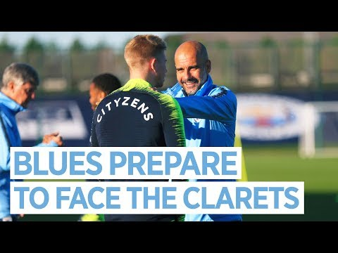 BACK FROM INTERNATIONALS | Preparing to take on Burnley