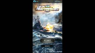 Iron BattleShips : Pacific War - Gameplay Android -