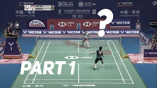 Ginting vs. Momota - Offense vs. Defense? Badminton Singles Strategy Explained (Part 1)