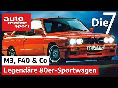 BMW M3, Ferrari F40, Renault 5 Turbo & Co - 7 legendäre Sportwagen der 80er | auto motor und sport