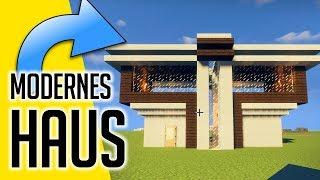 Cooles Modernes Haus In Minecraft Bauen म फ त ऑनल इन