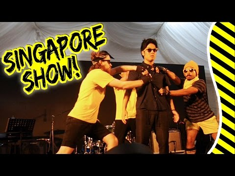 BEST CREW Performance in Singapore!