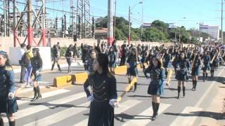 preview picture of video 'Desfile en Lambaré 2012 - Escuela Metodista Nuevo Horizonte'