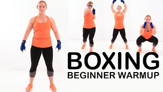 Boxing. Beginner WARMUP for ALL AGES by NateBowerFitness