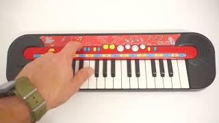 My Music World SIMBA toy electric piano synthesizer