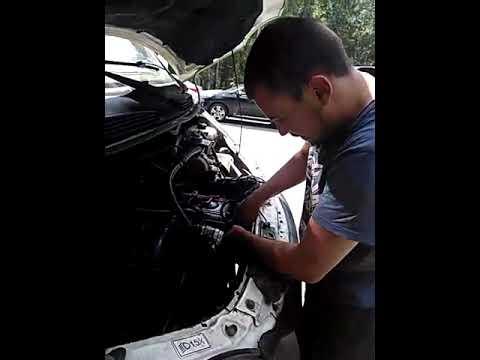 Сломался в дороге// выдовило все масло с двигателя
